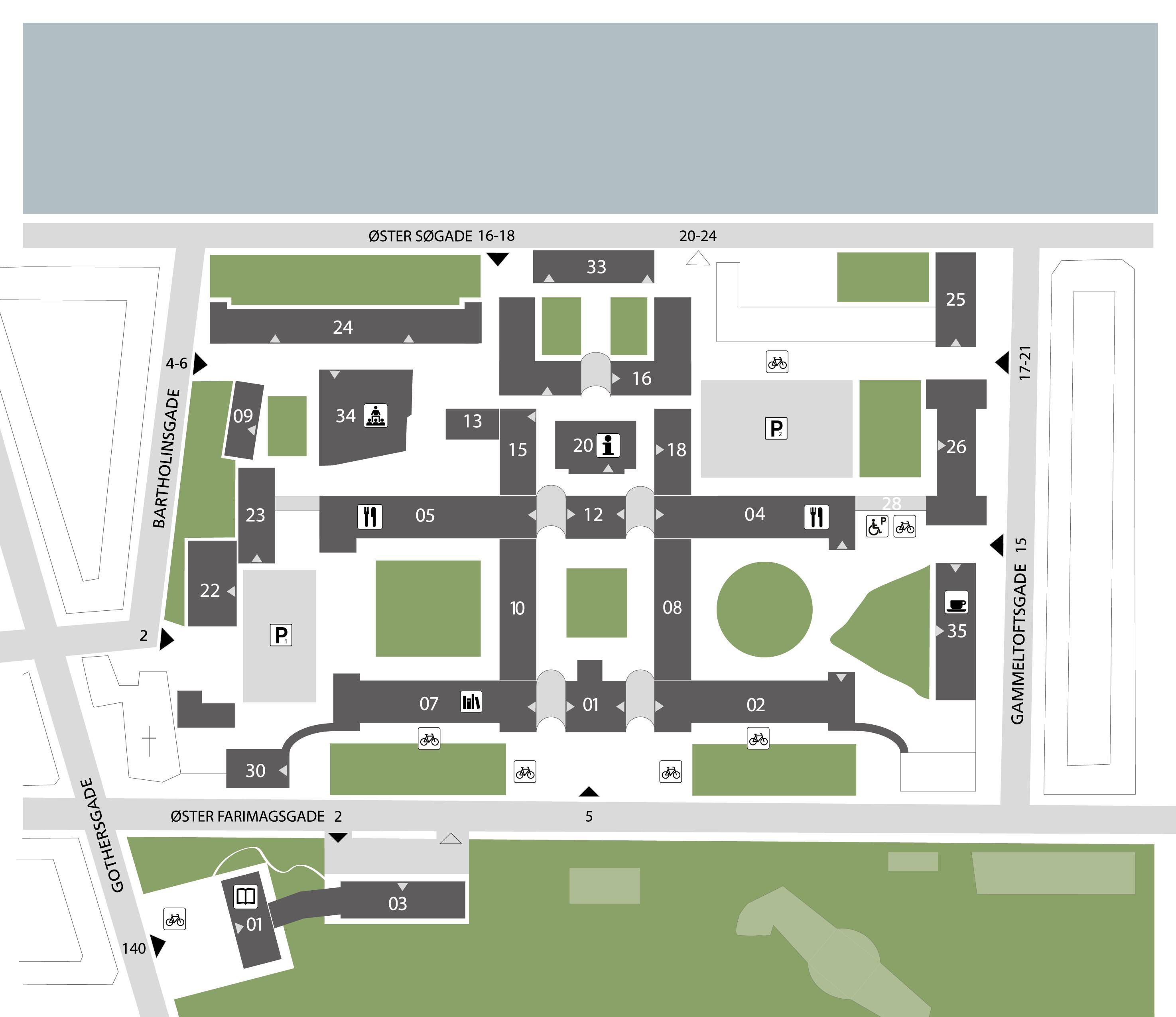 Kort over CSS Campus